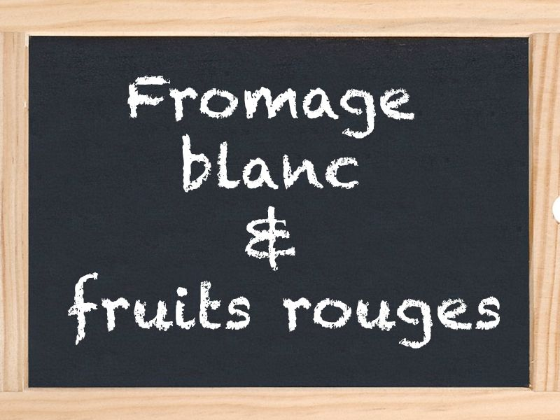 Fromage blanc & fruits rouges